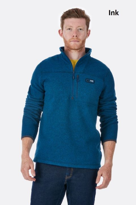 Rab Men's Quest Pull-On Fleece - Pullover Fleece Knit